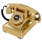 Wild and Wolf Gold Telephone (28044)