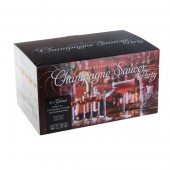 Box of 6 Champagne Saucers (28090)