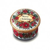 Merry Christmas Enamel Box (28284)