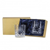 Royal Scot Engraved Crest Large Tumbler Glasses Box of 2 (28455)