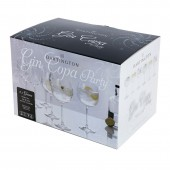 Dartington Crystal Box of 6 Gin and Tonic Copa Balloon Glasses (28622)