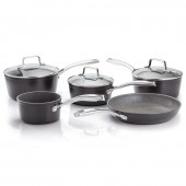 Rocktanium 5 Piece Saucepan Set Glass Lids (28629)