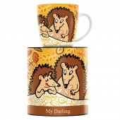 My Darling Mugs Martina Schlenke Hedgehog 2019 (28717)