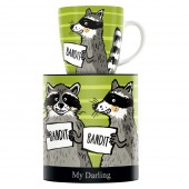 My Darling Mugs Martina Schlenke Raccoon 2019 (28718)