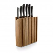 Signature Kitchen Knives 7 Piece Oak Knife Block Set (28953)
