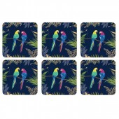 Portmeirion Parrot Coasters set of six (29027)