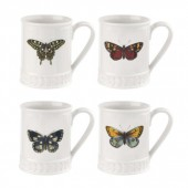 Botanic Garden Harmony Tankard Mug Set of four (29150)