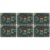 Botanic Garden Harmony Set of Six placemats (29159)