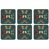 Botanic Garden Harmony Set of Six coasters (29160)