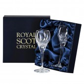 Royal Scot Presentation Box of 2 Port or Sherry Glasses (29380)