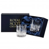 Iona Presentation Box of 2 Small WhiskyTumblers (29384)