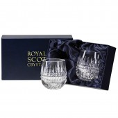Royal Scot Presentation Box of 2 Small Barrel Shape Tumblers (29385)