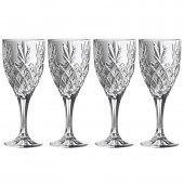 Galway Crystal Box of 4 Wine Goblets (29440)