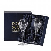 Royal Scot Boxed Pair of Port Sherry Glasses (29472)