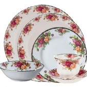 Old Country Roses 24 Piece Dinner Set (417)