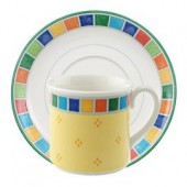 Twist Alea Espresso Coffee Cup and Saucer (4204)