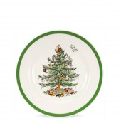 Christmas Tree 16cm Tea Plate (4411)