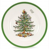 Christmas Tree 27cm Dinner Plate (4413)