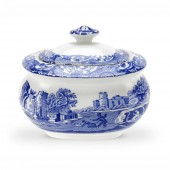 Blue Italian Covered Sugar Bowl (4417)