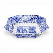 Blue Italian 23.5cm Square Salad Bowl (4423)