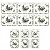 Holly And Ivy Placemats & Coasters Set of 6 (4687)