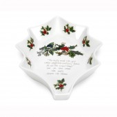 Portmeirion 25cm Holly Shaped Dish (4693)