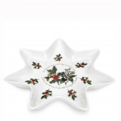 Holly And Ivy 25cm Star Dish (4694)