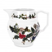 Holly And Ivy 1 Pint Staffordshire Jug (4700)