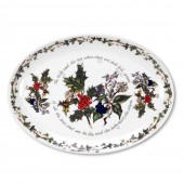 Holly And Ivy 33cm Oval Platter (4706)