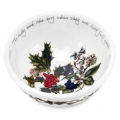 Holly And Ivy 14cm Fruit Bowl (4728)