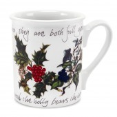 Holly And Ivy Breakfast Mug (4734)