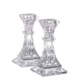 Lismore Pair of 15cm Candlesticks (4945)