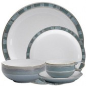 Denby Azure Coast 24 Piece Dinner Set (4997)