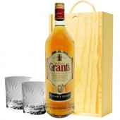 Drinking Gifts Grants Whisky and Tumblers Gift Set (5004)