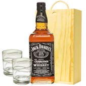 Drinking Gifts Jack Daniels Whiskey and Tumblers Gift Set (5006)