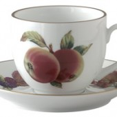 Evesham Gold Tea Cup and Saucer (5625)