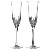 Waterford Crystal Flute Champagne Glasses - Set of 2 (6128)