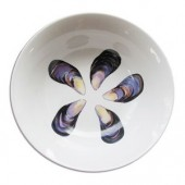Jersey Pottery 25cm Serving Bowl Mussel (6274)
