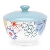Crazy Daisy Covered Sugar Bowl (6332)