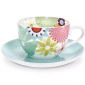 Crazy Daisy Jumbo Cup and Saucer (6338)