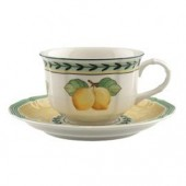 French Garden Fleurence Tea Cup and Saucer (7005)