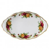Old Country Roses Sandwich Tray (7930)