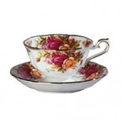 Old Country Roses Avon Tea Cup and Saucer (7976)