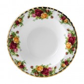 Old Country Roses 21cm Rimmed Soup Bowl (7981)