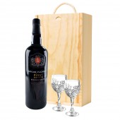 Drinking Gifts Taylors Port and Crystal Port Glasses (9025)