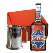 Drinking Gifts Pewter Tankard and Bottle Beer Gift Set (9027)