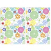 Pimpernel 4 Crazy Daisy Large Tablemats (9192)
