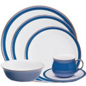 Denby Denby Imperial Blue 24 Piece Dinner Service (93)