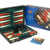 Traditional Games Small Backgammon Set (9664)