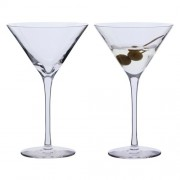Martini Cocktail Glasses - Box of 2 (10109)